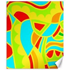 Colorful Decor Canvas 8  X 10