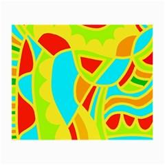 Colorful decor Small Glasses Cloth (2-Side)