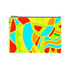 Colorful decor Cosmetic Bag (Large)