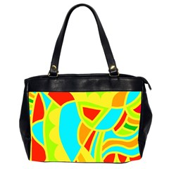 Colorful decor Office Handbags (2 Sides)