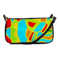 Colorful decor Shoulder Clutch Bags