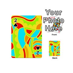 Colorful decor Playing Cards 54 (Mini)
