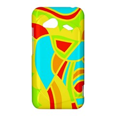 Colorful decor HTC Droid Incredible 4G LTE Hardshell Case