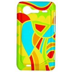 Colorful decor HTC Incredible S Hardshell Case
