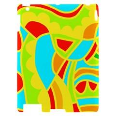 Colorful decor Apple iPad 2 Hardshell Case