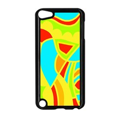 Colorful decor Apple iPod Touch 5 Case (Black)