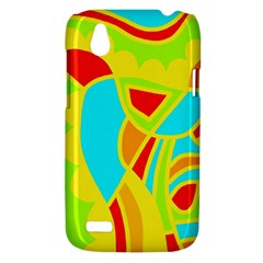 Colorful decor HTC Desire V (T328W) Hardshell Case