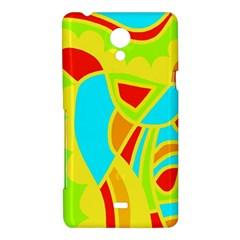 Colorful decor Sony Xperia T