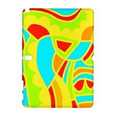 Colorful decor Samsung Galaxy Note 10.1 (P600) Hardshell Case