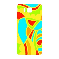 Colorful decor Samsung Galaxy Alpha Hardshell Back Case