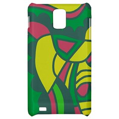 Green abstract decor Samsung Infuse 4G Hardshell Case