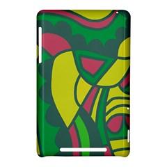 Green abstract decor Nexus 7 (2012)