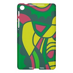 Green abstract decor Nexus 7 (2013)