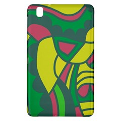 Green abstract decor Samsung Galaxy Tab Pro 8.4 Hardshell Case