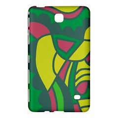 Green abstract decor Samsung Galaxy Tab 4 (7 ) Hardshell Case