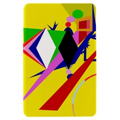 Yellow abstraction Kindle Fire (1st Gen) Hardshell Case