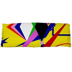 Yellow abstraction Body Pillow Case (Dakimakura)