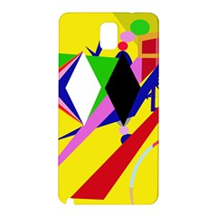 Yellow abstraction Samsung Galaxy Note 3 N9005 Hardshell Back Case