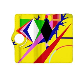 Yellow abstraction Kindle Fire HDX 8.9  Flip 360 Case