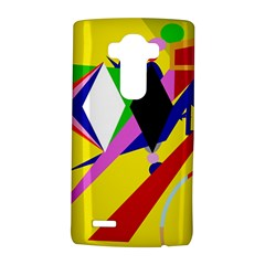 Yellow abstraction LG G4 Hardshell Case