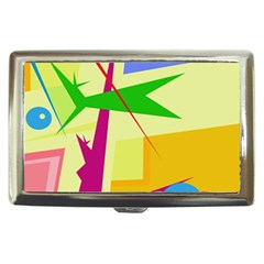 Colorful abstract art Cigarette Money Cases