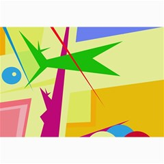 Colorful abstract art Collage Prints
