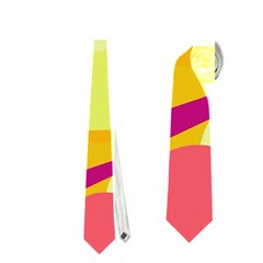 Colorful abstract art Neckties (Two Side)