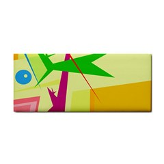 Colorful abstract art Hand Towel