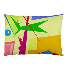Colorful abstract art Pillow Case