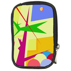 Colorful abstract art Compact Camera Cases