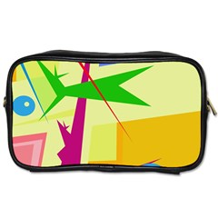 Colorful abstract art Toiletries Bags