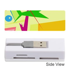 Colorful abstract art Memory Card Reader (Stick)