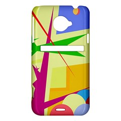 Colorful abstract art HTC Evo 4G LTE Hardshell Case