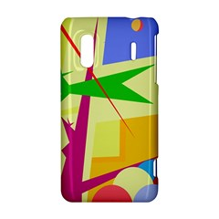 Colorful abstract art HTC Evo Design 4G/ Hero S Hardshell Case