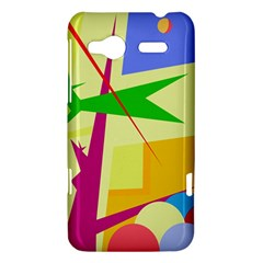 Colorful abstract art HTC Radar Hardshell Case