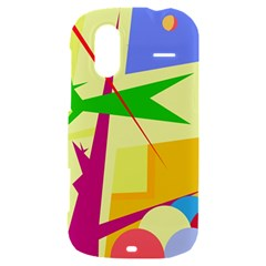 Colorful abstract art HTC Amaze 4G Hardshell Case