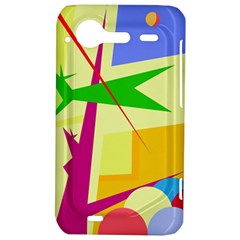Colorful abstract art HTC Incredible S Hardshell Case