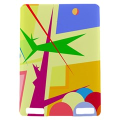 Colorful abstract art Kindle Touch 3G