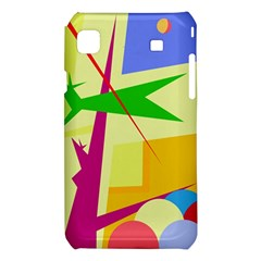 Colorful abstract art Samsung Galaxy S i9008 Hardshell Case