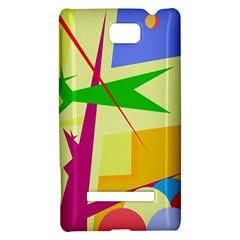 Colorful abstract art HTC 8S Hardshell Case