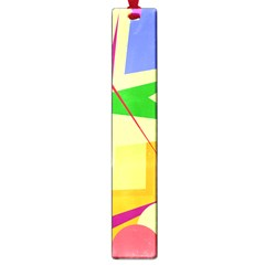 Colorful abstract art Large Book Marks