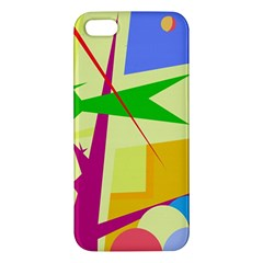 Colorful abstract art Apple iPhone 5 Premium Hardshell Case