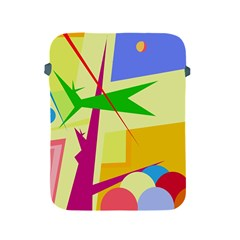Colorful abstract art Apple iPad 2/3/4 Protective Soft Cases