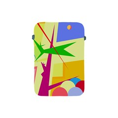 Colorful abstract art Apple iPad Mini Protective Soft Cases