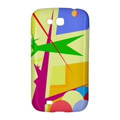 Colorful abstract art Samsung Galaxy Grand GT-I9128 Hardshell Case