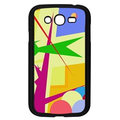 Colorful abstract art Samsung Galaxy Grand DUOS I9082 Case (Black)