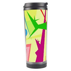 Colorful abstract art Travel Tumbler