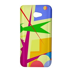 Colorful abstract art HTC Butterfly S/HTC 9060 Hardshell Case