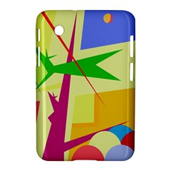 Colorful abstract art Samsung Galaxy Tab 2 (7 ) P3100 Hardshell Case