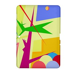 Colorful abstract art Samsung Galaxy Tab 2 (10.1 ) P5100 Hardshell Case